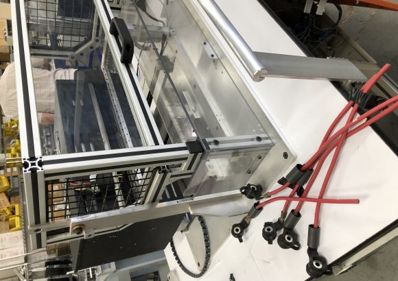 Heat shrink Automated machine for wire harness